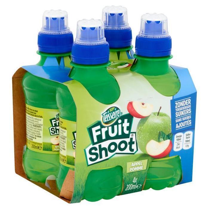 Teisseire Fruit Shoot Appel 4 x 200ml (4 × 200ml)