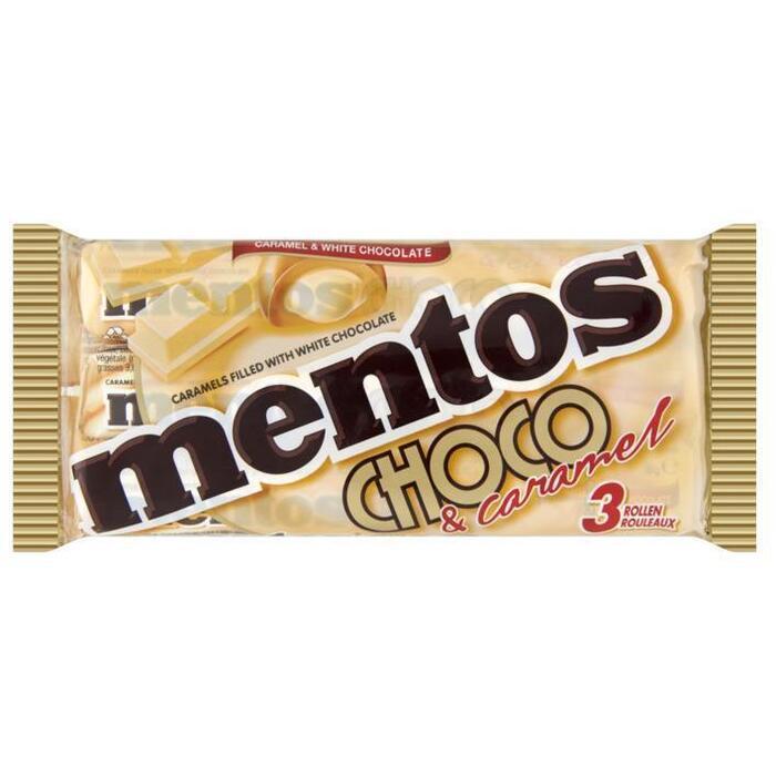 MENTOS Rollen White Choco Zacht Suikerwerk 38 g Wikkel (114g)