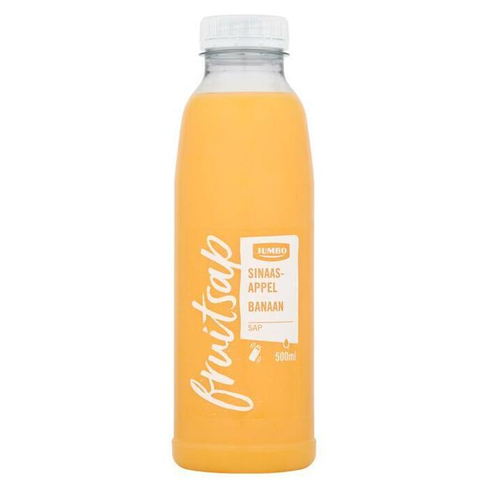 Jumbo Fruitsap Sinaasappelsap Banaan 500ml (0.5L)