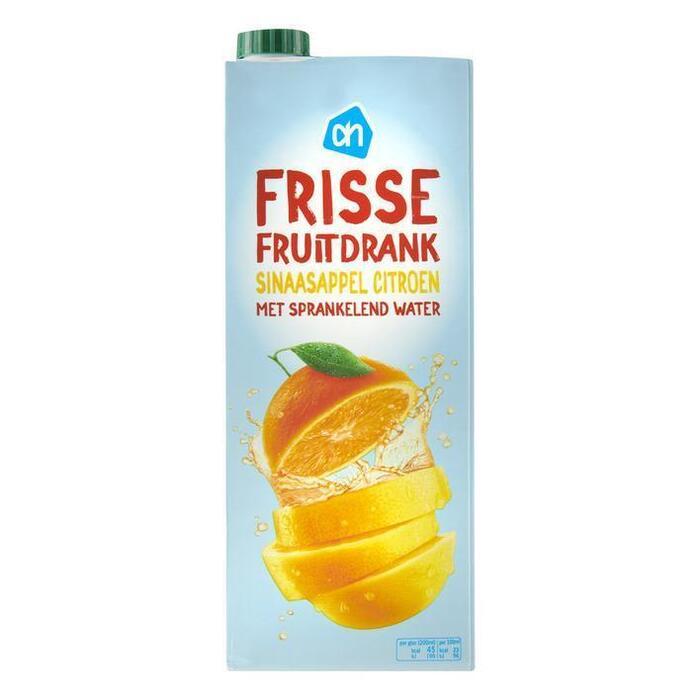 Frisse Fruitdrank sinaasappel & limoen (karton, 1.5L)