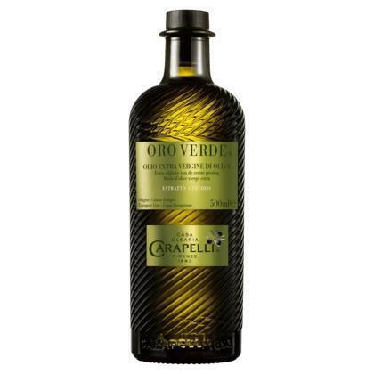 Carapelli Oro Verde Extra Olijfolie van de Eerste Persing 500 ml (0.5L)