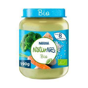 NaturNes Groenten kalkoen 8+ mnd babyvoeding (190g)