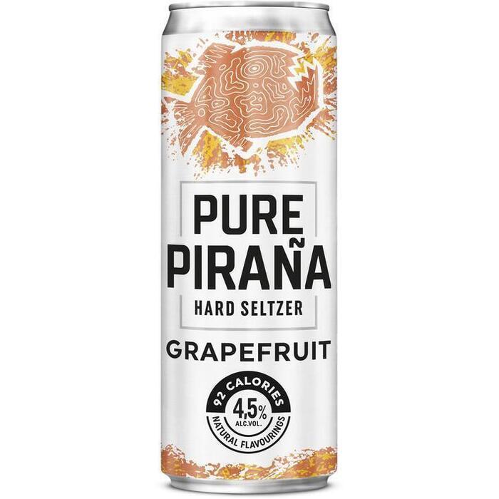 Pure Piraña Grapefruit seltzer (33cl)