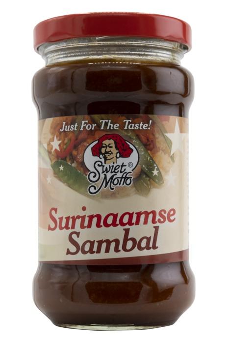 Swiet Moffo Surinaamse sambal (270g)