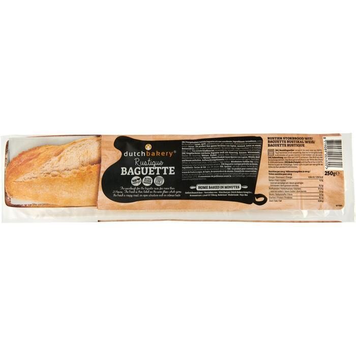 Dutch Bakery Rustique Baguette 250 g (250g)