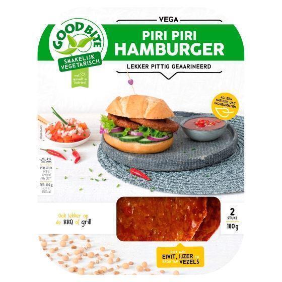Piri Piri Hamburger (180g)