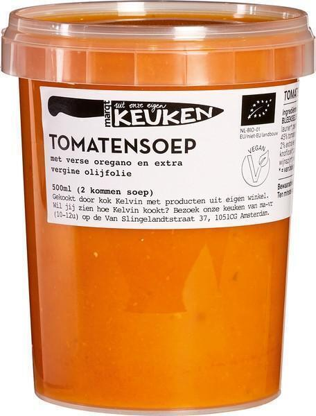 Tomatensoep met oregano (0.5L)