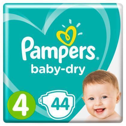 Luiers Pampers Baby Dry Maat 4  PAK