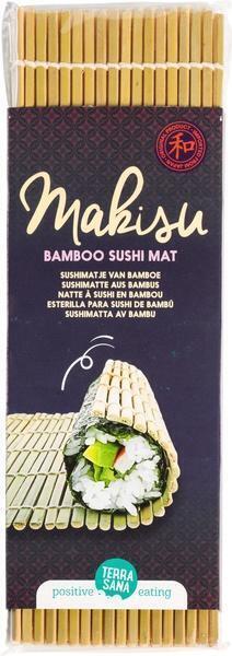Makisu - Sushimatje van bamboe TerraSana 1st (set)