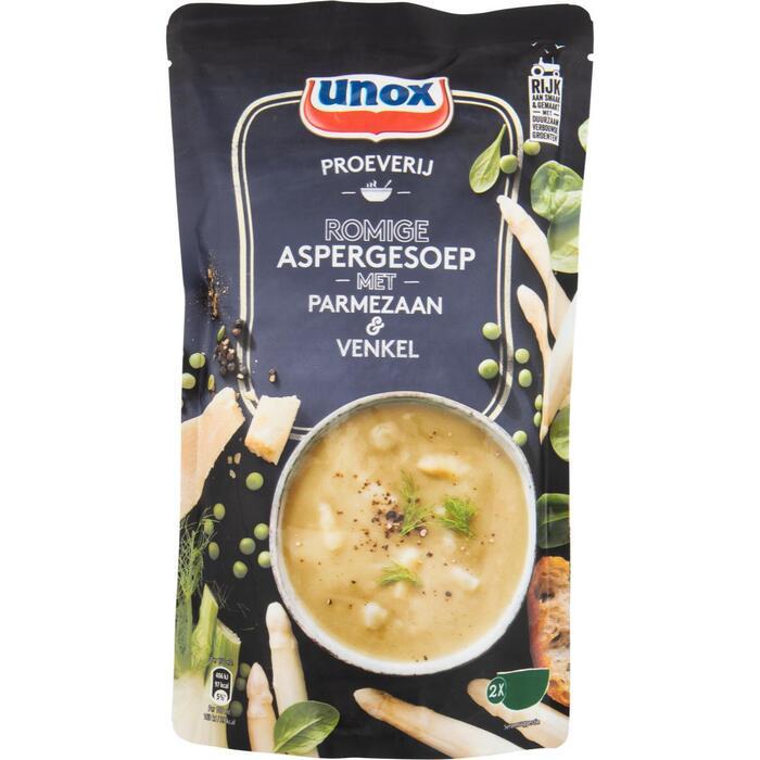 Unox Soep in zak Proeverij asperge (0.57L)