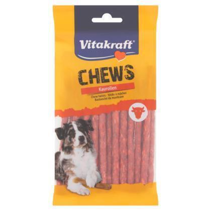 Vitakraft Chews Kauwrollen 25 Munchy Sticks 130 g (25 × 130g)