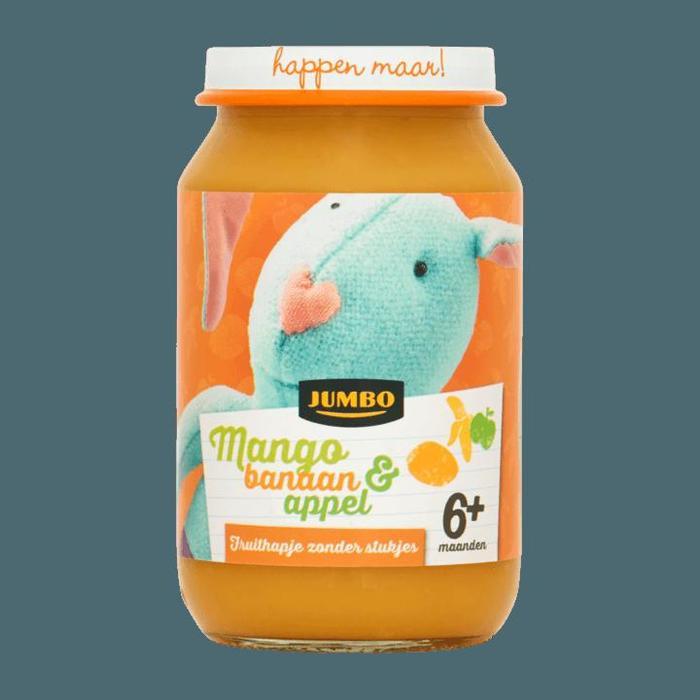 Jumbo Mango Banaan & Appel 6+ Maanden 200g (200g)