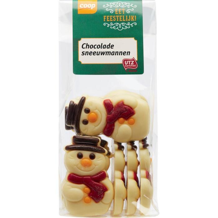 Chocolade sneeuwmannen (150g)