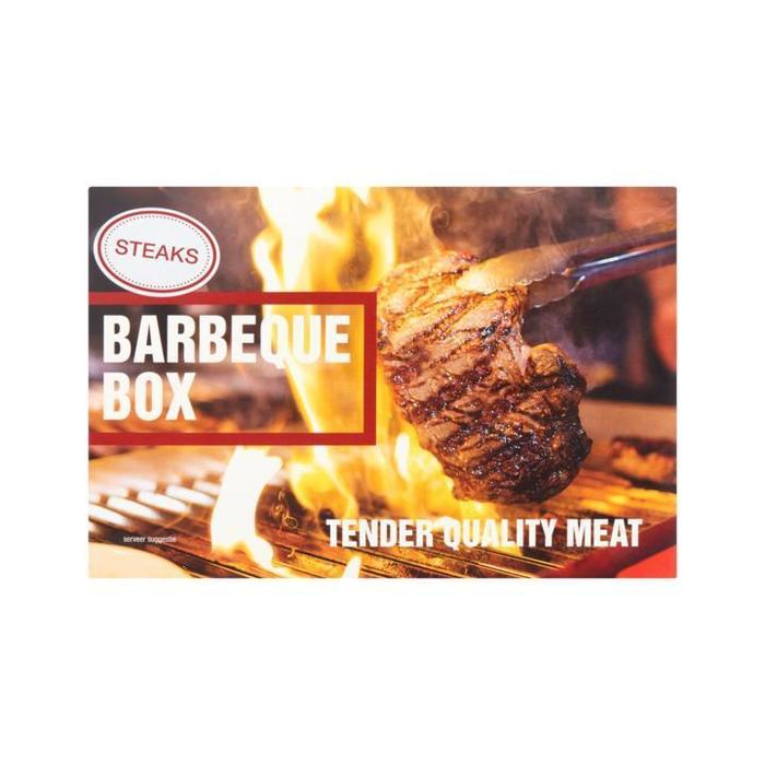 Steaks Barbequebox 750g (6 × 750g)