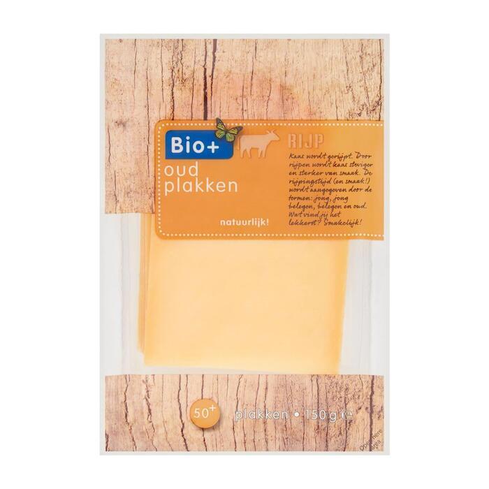 Bio+ Kaas plakken oud (150g)