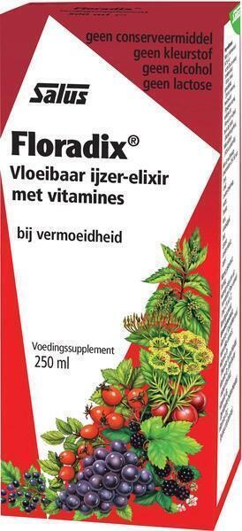 Floradix ijzer-elixer (250ml)