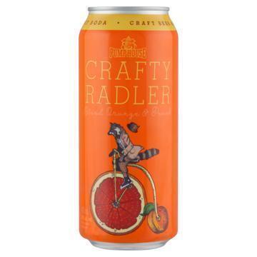 Pump House Craft Beer & Fruit SodaCrafty Radler Blood Orange & Peach 473 ml (47.3cl)