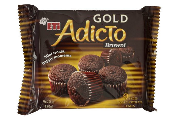 Adicto Brownie gold (180g)