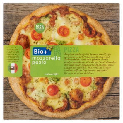 Pizza mozzarella pesto (350g)