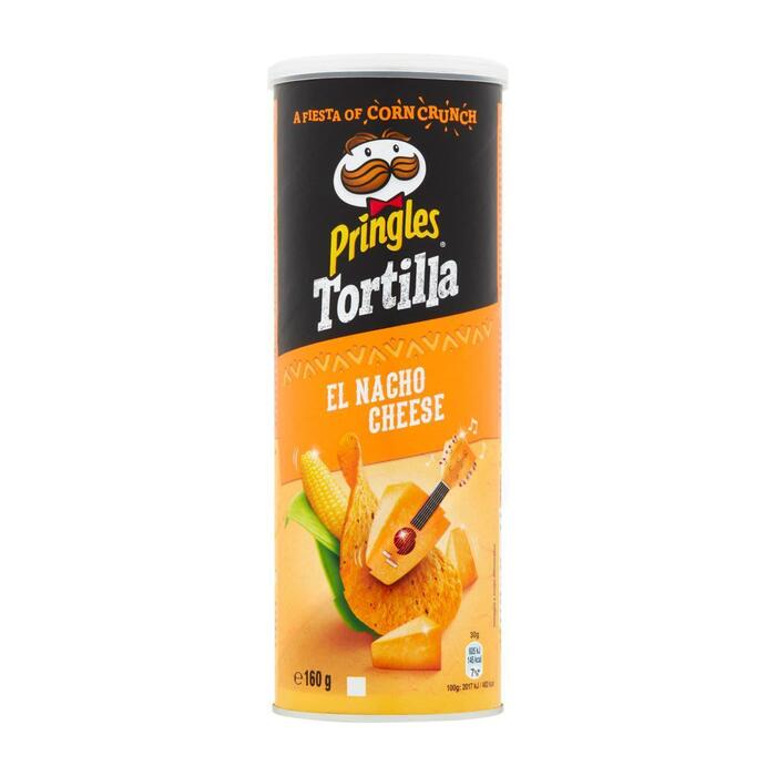 Tortilla nacho cheese (160g)