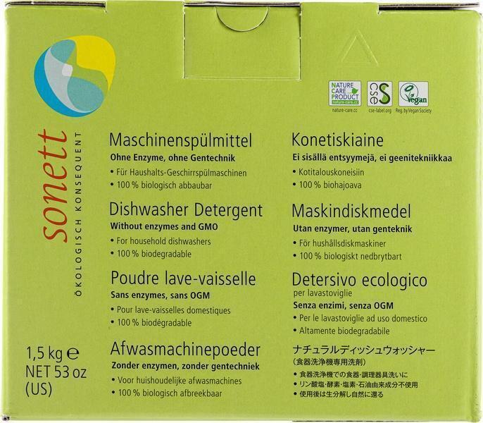 Vaatwasmachinepoeder (1.5kg)