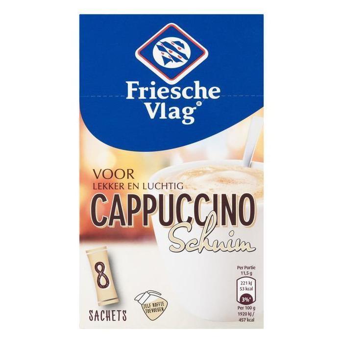 Cappuccino schuim (sachets, 8 × 11.5g)