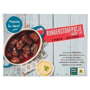 Passion for Meat Runderstoofpotje 250 g (250g)