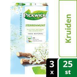 PICKWICK THEEZAKJES STERRENMUNT PROFESSIONAL SEALED ENVELOP 3X25X2G (bak, 25 × 50g)