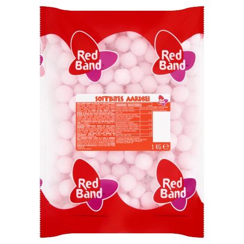 Red Band Aardbei Balletjes 1000 g (1kg)