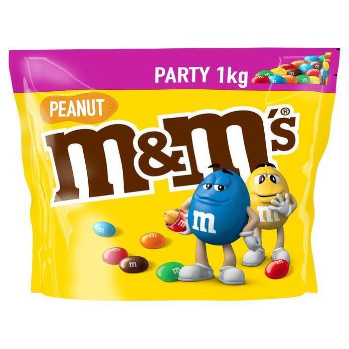 M&M Peanut Party Pack (zak, 1kg)