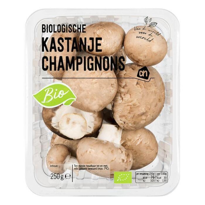AH Biologisch Kastanje champignons (250g)
