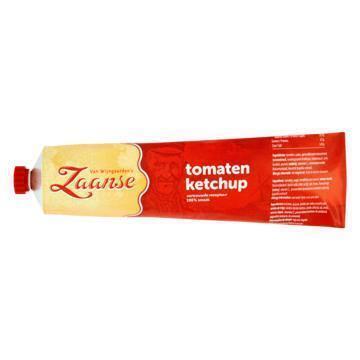 Zaanse Tomaten Ketchup (tube, 160ml)