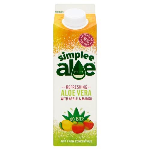 Simplee Aloe Mango Apple 6x1000ml (1L)