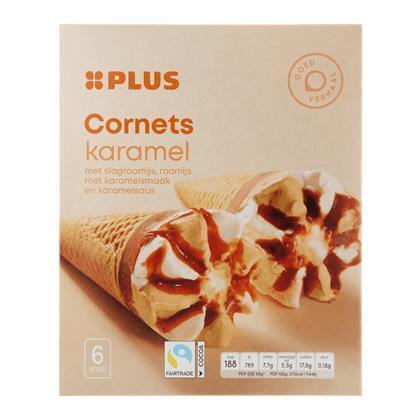 Cornets Karamel (0.72L)