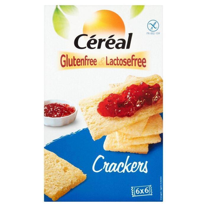 Céréal Glutenfree & Lactosefree Crackers 6 Zakjes 250 g (250g)