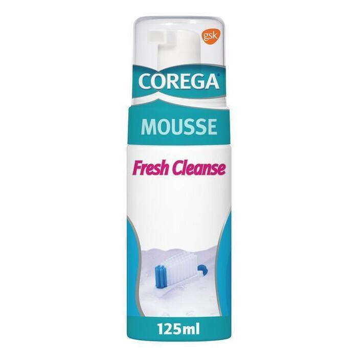 Corega Mousse fresh cleanse anti-bacterie (125ml)
