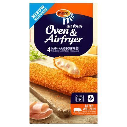 Mora Oven & Airfryer Ham-Kaassoufflés 4 x 70 g (4 × 280g)