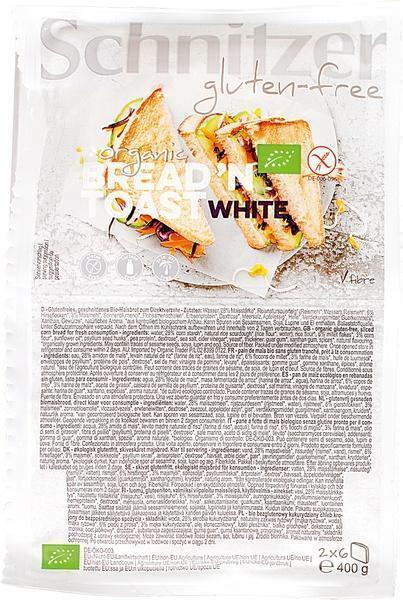 Bread'n Toast White (400g)