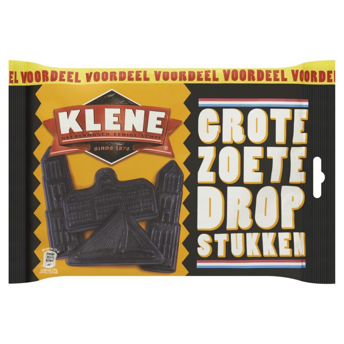Klene Grote Zoete Drop Stukken Voordeel 500g (500g)