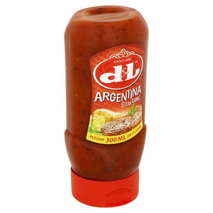 D&L Argentina Steak & Grill Saus 300ml (30cl)