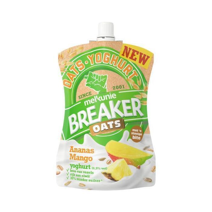 Melkunie Breaker oats ananas-mango (200g)