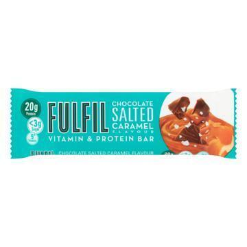 Fulfil Chocolate Salted Caramel Flavour Vitamin & Protein Bar 55 g (55g)
