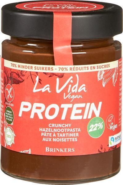 Proteïne crunchy hazelnootpasta (270g)