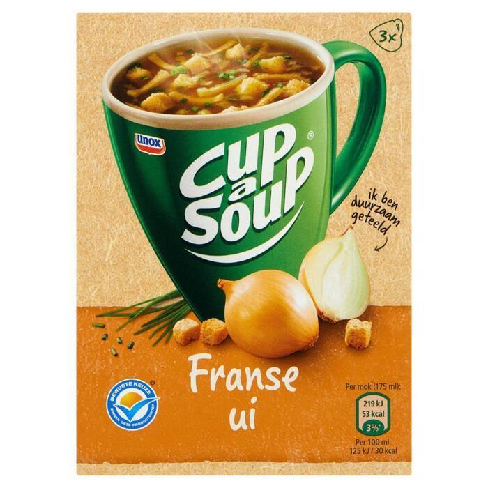 Cup-a-Soup franse uiensoep (3 × 42g)