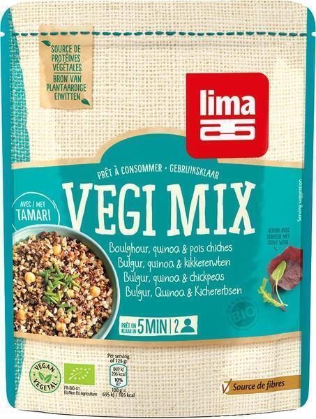 Vegi mix bulgur - quinoa en kikkererwten (250g)