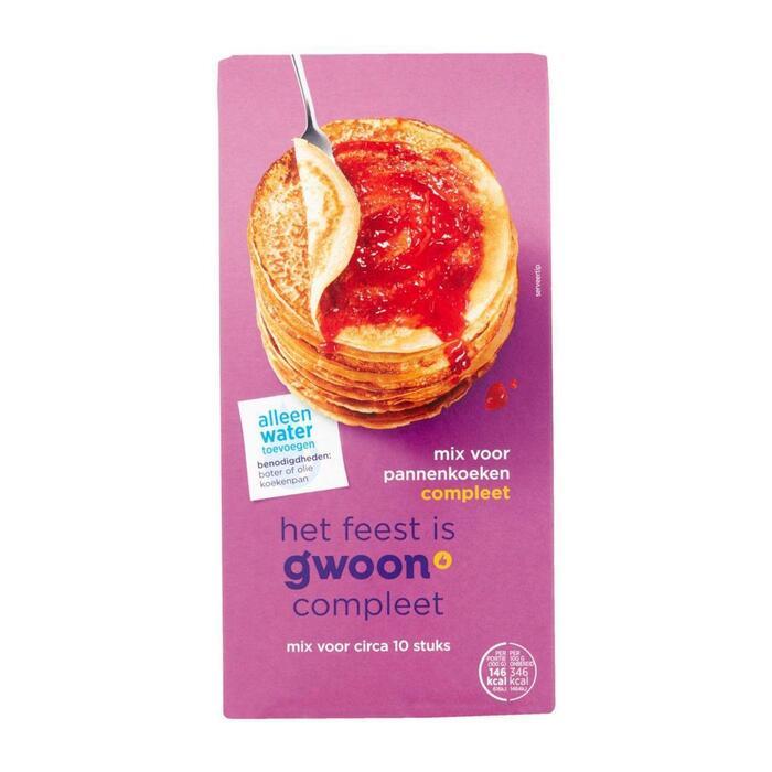 g'woon Mix voor eierpannenkoek (400g)