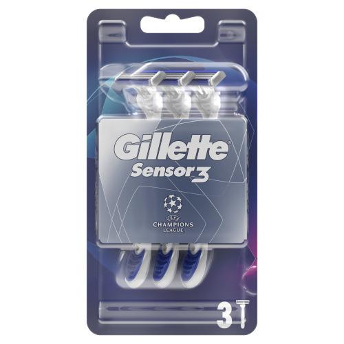 Gillette Sensor3 Comfort Wegwerpmesje Voor Mannen, Verpakking Van 3