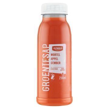 Jumbo Groentesap Wortel Appel Gember 250 ml (250ml)