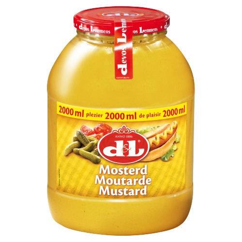 D&L Mosterd 2 L (2L)