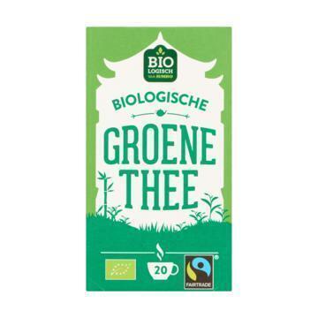 Jumbo Biologische Groene Thee 20 Zakjes 30g (30g)
